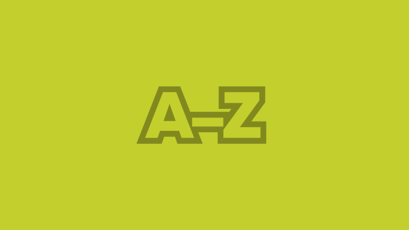 A–Z journals icon