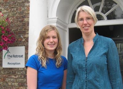 Karen Heaslip and  Maureen Horsley
